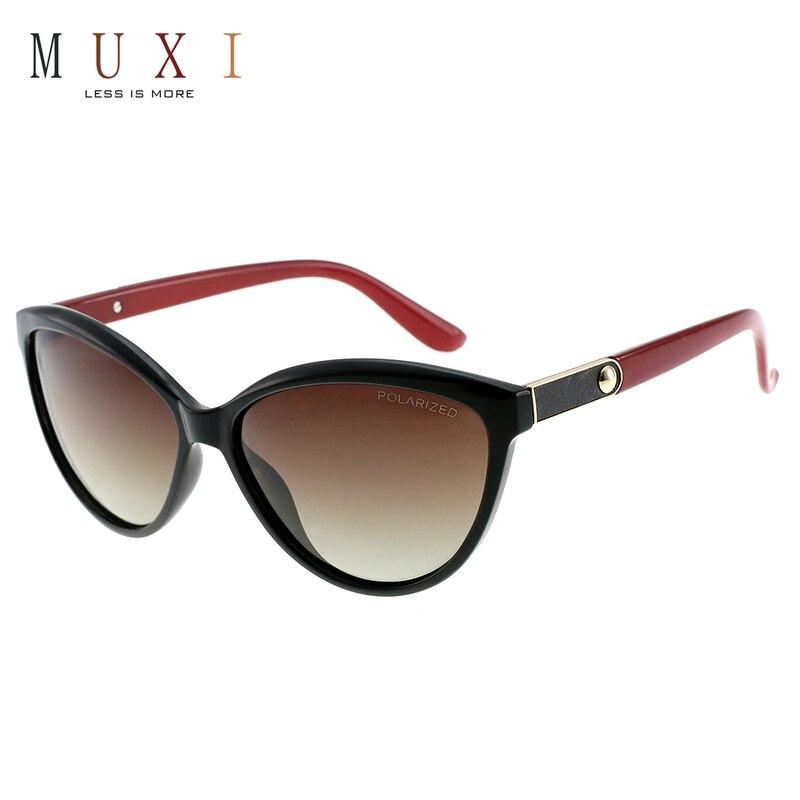 b7811270a2 Nuevo caliente de ojo de gato diseño de lente polarizada negro marco de la  pc de moda gafas de sol de las mujeres con bisagra de resorte de primavera