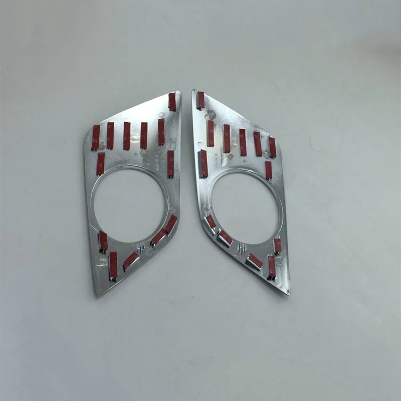 ABS chrome car accessories front foglight cover  Car Styling For TOYOTA CH-R 2018