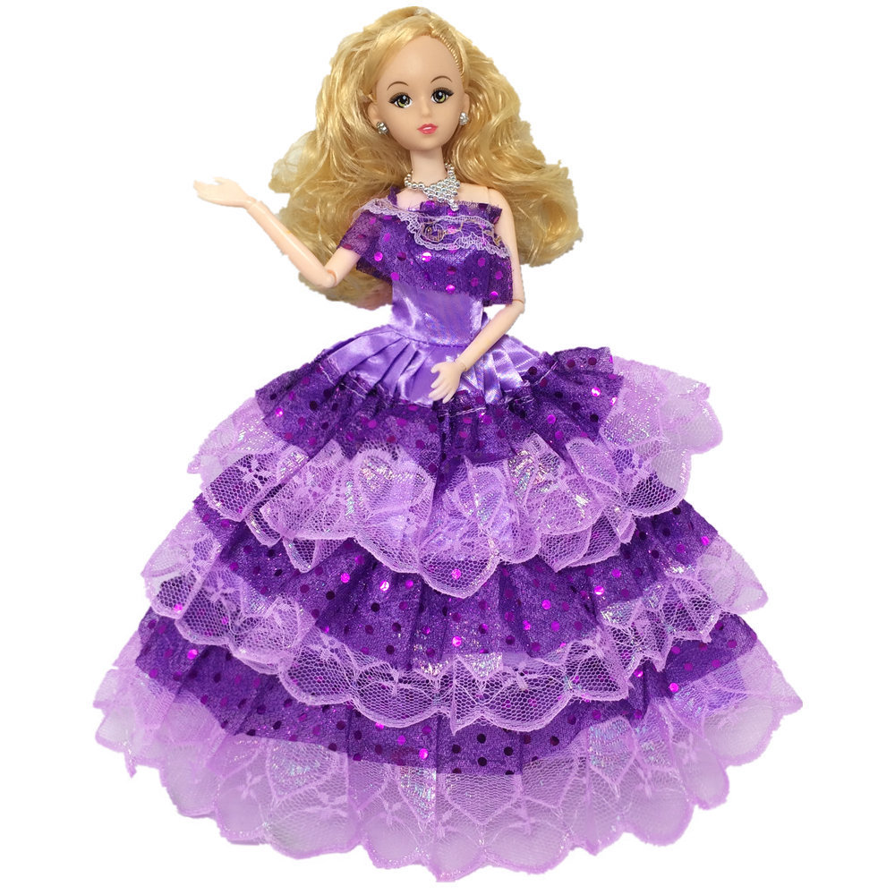 Wedding Gown Display: NK One Pcs Princess Doll Wedding Dress Noble Party Gown