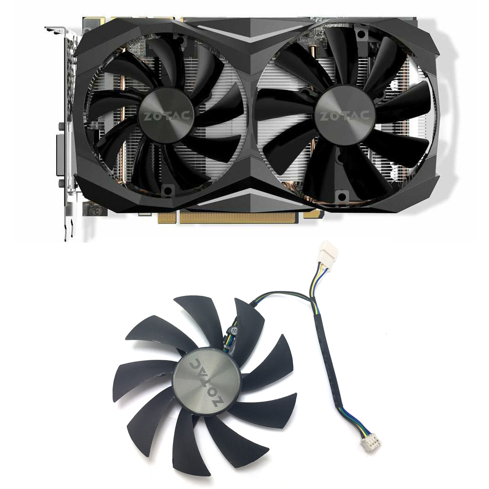 Original 87MM GA92S2H GA91S2H GAA8S2U PC Cooler Fan For ZOTAC <font><b>GTX</b></font> <font><b>1060</b></font> 1070 Ti <font><b>MINI</b></font> HA 1080 Ti <font><b>MINI</b></font> GPU Graphic Card Cooling Fan image