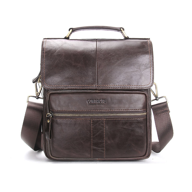 Genuine leather high-end design men retro 2017 new men's shoulder bag leather Messenger bag factory supply casual bag bag messenger bag casual laptop business messenger bag factory direct new 2017 high end fashion men s shoulder bag leather