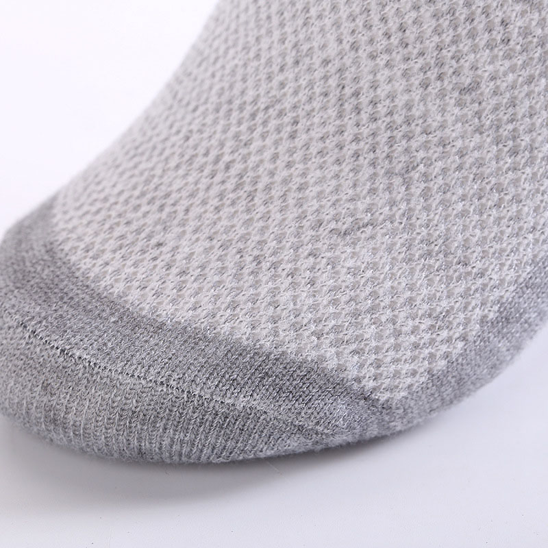 20pcs=10pair Solid Mesh Men's Socks Invisible Ankle Socks Men Summer Breathable Thin Boat Socks Size Eur 38-43 Cheap Price #5