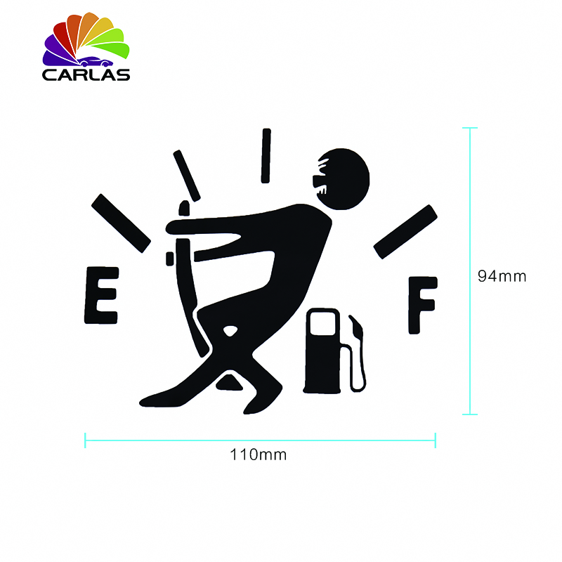 Image 3 - Waterproof 1 Pcs Funny Car Sticker Pull Fuel Tank Pointer To Full Hellaflush Reflective Vinyl Car Sticker Decal-in Car Stickers from Automobiles & Motorcycles