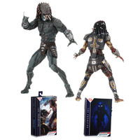 NEW NECA The Predator Armored Assassin Ultimate Fugitive Predator Unmasked Figure PVC Action Figure Collectible Model Toy