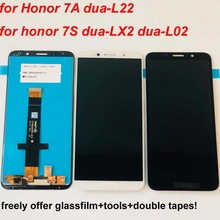 Original Black/White For Huawei honor 7S 2018 LCD DIsplay + Touch Screen Digitizer Assembly + Tools For Huawei honor 7a DUA L22