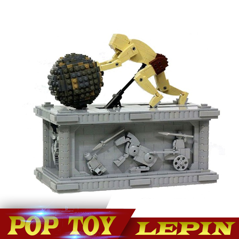 NEW Lepin 23017 1462Pcs the Movie Series 1518 MOC Le Mythe de Sisyphe Building Blocks Bricks Model to Holiday Toys Gift new lepin 23017 1462pcs movie series moc le mythe de sisyphe building blocks bricks to holiday toys gift