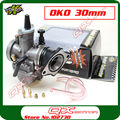 High Performance OKO 30mm PWK Carb Carburetor for Kayo Apollo Bosuer Xmotos 250cc Dirt Bike MX Motocross ATV Quad