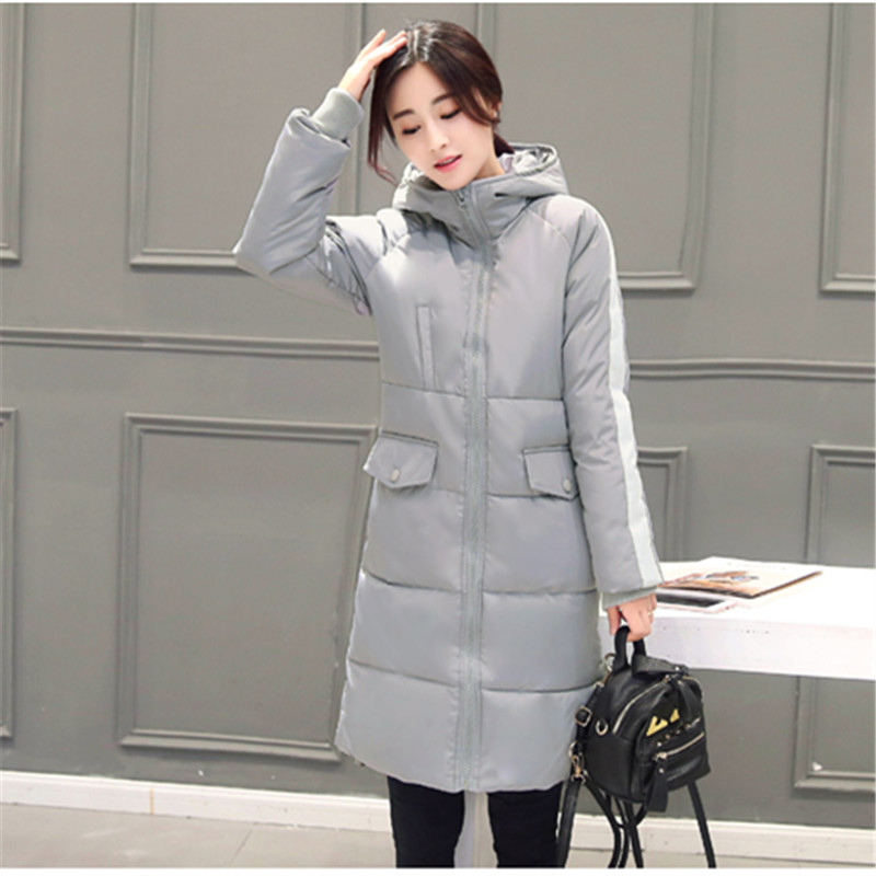 New 2016 Winter Coat Women parkas Outerwear Coats Female Jacket parka fashion warm full sleeve zipper cotton thick slim Jackets цены онлайн