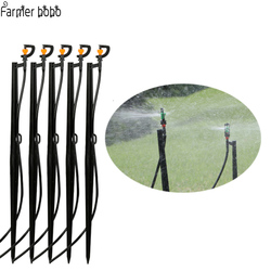 10pcs/ Underground pole 50CM  360 Rotary Sprinkler Dripper With  Potted Plant Irrigation Garden Lawn Micro Drip Fitting