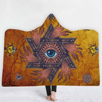 Bohemian Hooded Blanket 3