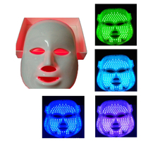 7สีLEDโฟตอนแสงหน้ากากสำหรับการดูแลผิวหน้าฟื้นฟูPro Photon LEDหน้ากากAnti-Agingกำจัดริ้วรอยการเสริมความงา...