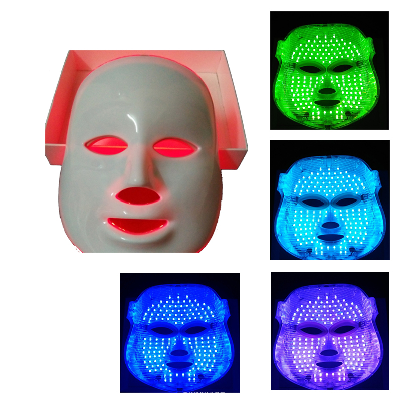 7 Colors LED Photon Light Mask For Facial Skin Care Rejuvenation Pro Photon LED Mask Anti-Aging Wrinkle Removal Beauty Therapy beurha facial mask led photon wrinkle acne removal beauty spa facial care led device skin rejuvenation electrical skin care tool