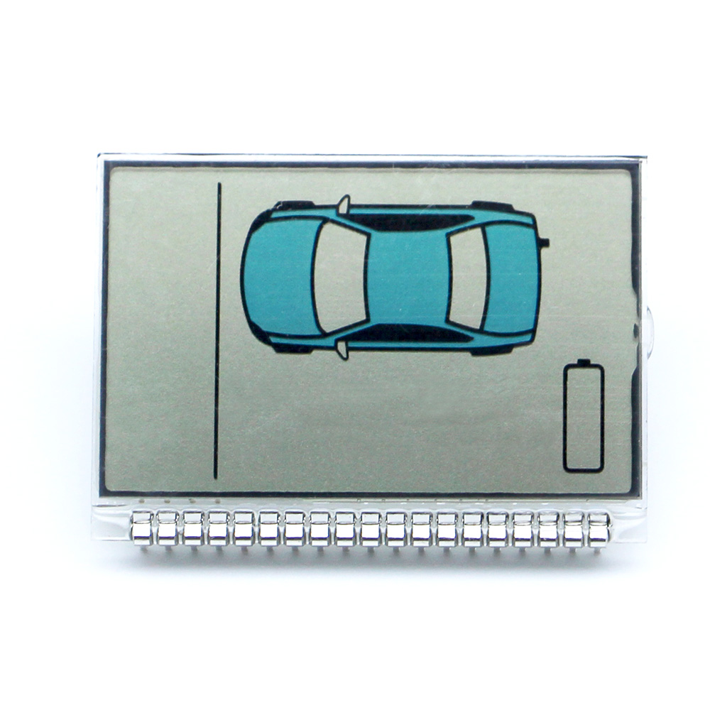 Russia version ZX925 lcd display for Sheriff ZX-925 lcd remote two way car alarm system