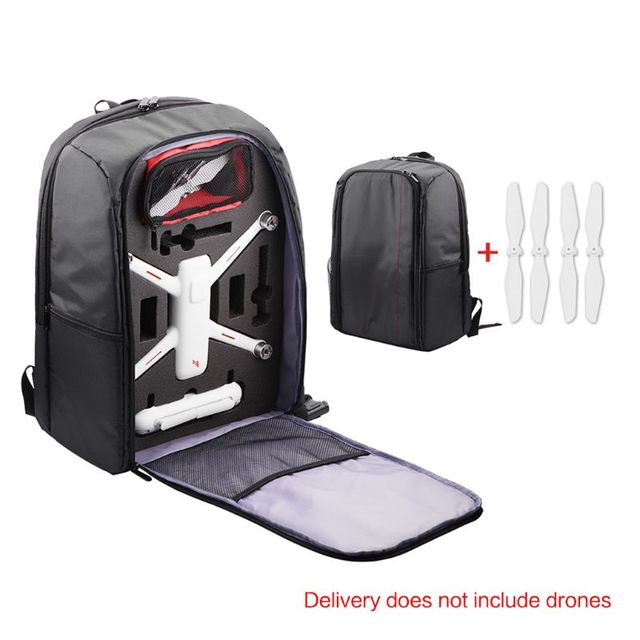 Portable Durable Backpack Storage Bag Carrying Case with Propellers for Xiaomi Fimi A3 Accessories