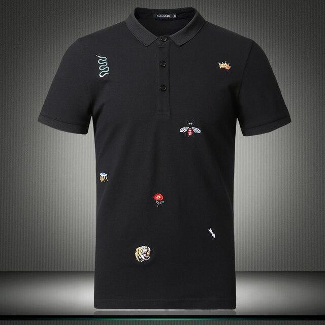 Мужская рубашка поло с цветочным принтом, размеры M 4XL/5XL