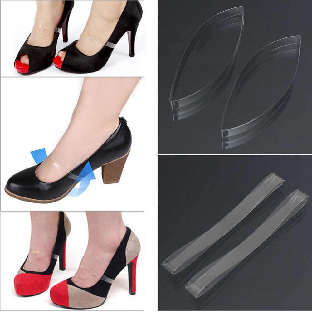 a18638c3a ... Открытые туфли Шнурки шнурки ремни обувь аксессуары невидимые  эластичные силиконовые прозрачные шнурки для обувь на высоком ...