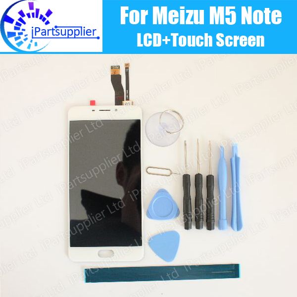 Meizu M5 Note LCD Display+Touch Screen 100% Original LCD Digitizer Glass Panel Replacement For Meizu M5 Note +tools+adhesive high quality 5 5inch for meizu m5 note 5 lcd display screen touch screen digitizer glass panel meilan note5 replacement assembly
