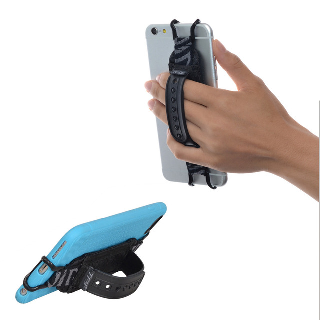 finest selection c23f7 97714 US $13.0 |TFY Smartphone Security Hand Strap Holder with Belt Stand for  iPhone, Smasung Phones and Other Phones-in Armbands from Cellphones & ...