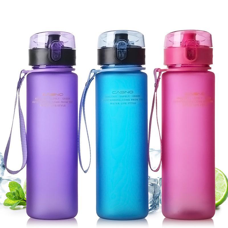 Leak Proof Sport Water Bottle High Quality Tour Hiking Portable Bottles 400ml 560ml