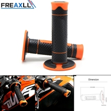 Motocross Handlebar handle Grips Rubber BAR End Brake Hand For 150 250 300 350 400 450 500 505 530 XC XCF EXC XCW 2008-2016