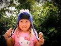 Бесплатная доставка, Cookie Monster Улица Сезам Шлема Вязания Крючком Шапочка 100% Хлопок Новый