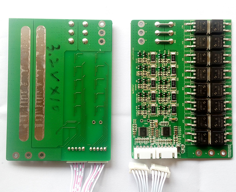 10S 60A  LiFePO4 BMS/PCM/PCB battery protection board for 10 Packs 18650 Battery Cell w/balance