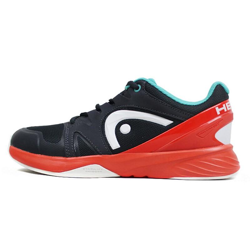 HEAD Original Men's Tennis Shoes Professional Athletic Sneakers For Men Sport Shoes Zapatillas Tenis Hombre Table Tennis Shoes head women s tennis shoes original wearable breathable damping professional tennis sneakers for women zapatillas para tenis