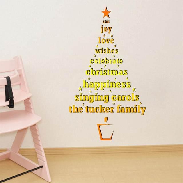 Perfect Christmas Tree Wall Decor Gift - Wall Art Collections ...