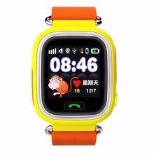 Q90 gps dokunmatik ekran wifi pozisyon smart watch çocuk sos çağrısı yer Bulucu Tracker Çocuk Güvenli Anti Kayıp Monitör pk Q50 Q80