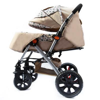 Paisaje de alta altitud puede aplicar rueda plegable suspensión cochecito de bebé de dos vías portable