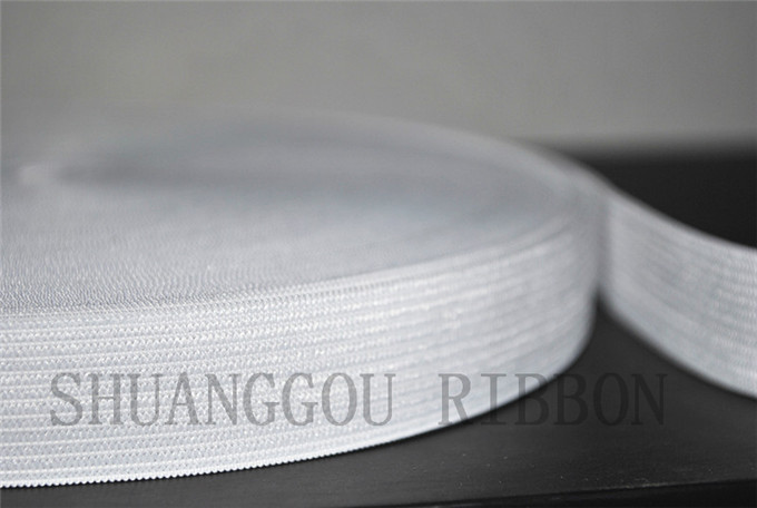 2g ribbon.Garment Elastic Accessories.white