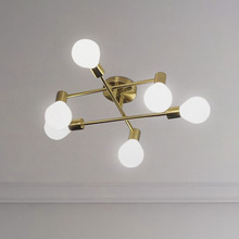 Creative post-modern ceiling light Nordic Golden Model living room bedroom full copper fashion designer lighting kitchen