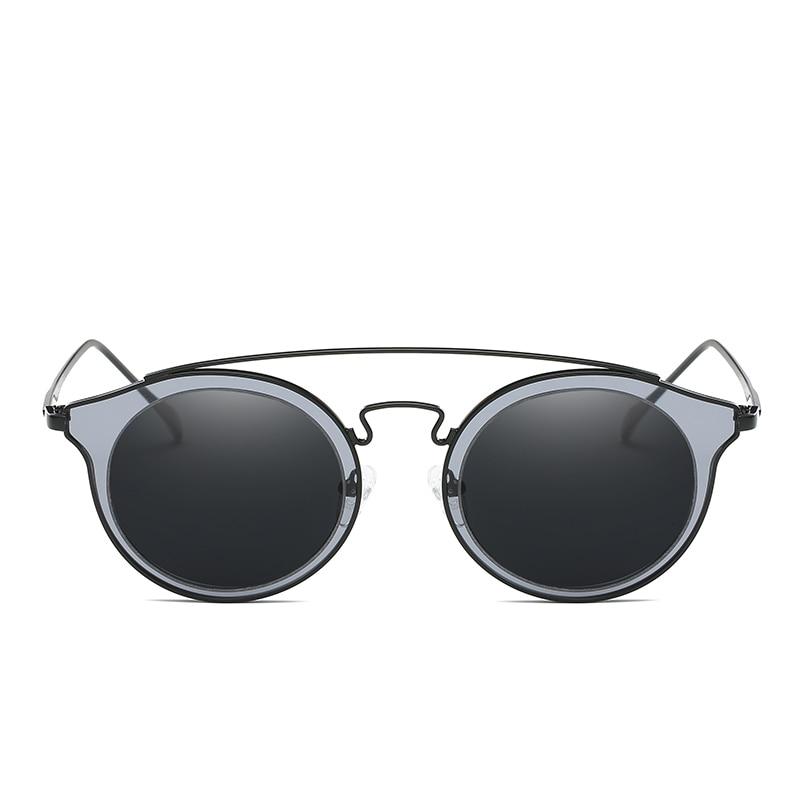 487d439fdb Badtemper Round Tortoise Sunglasses Retro Glasses Women Fashion Sunglasses  Double Nose Bridge Metal Acetate Frame Eyewear Goggle-in Sunglasses from  Apparel ...