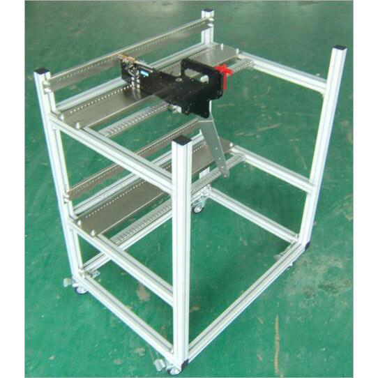 Smt feeder cart storage mirae trolley cart juki mechanical feeder cart storage trolley cart