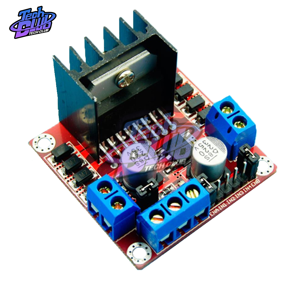 L298N H Bridge <font><b>Motor</b></font> <font><b>Driver</b></font> Board Module L298 <font><b>DC</b></font> Stepper <font><b>Motor</b></font> Controller Smart Car Robot <font><b>Motor</b></font> <font><b>Driver</b></font> Board Peltier High Power image