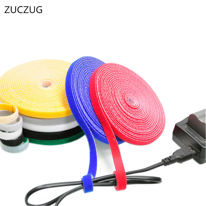 FLOVEME Nylon Cable Winder Wire Organizer Eearphone Holder Mouse Cord Protector