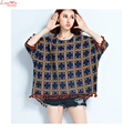 oversize batwing sleeve colored dots tassel short t-shirt casual pullovers summer thin tops women camisole