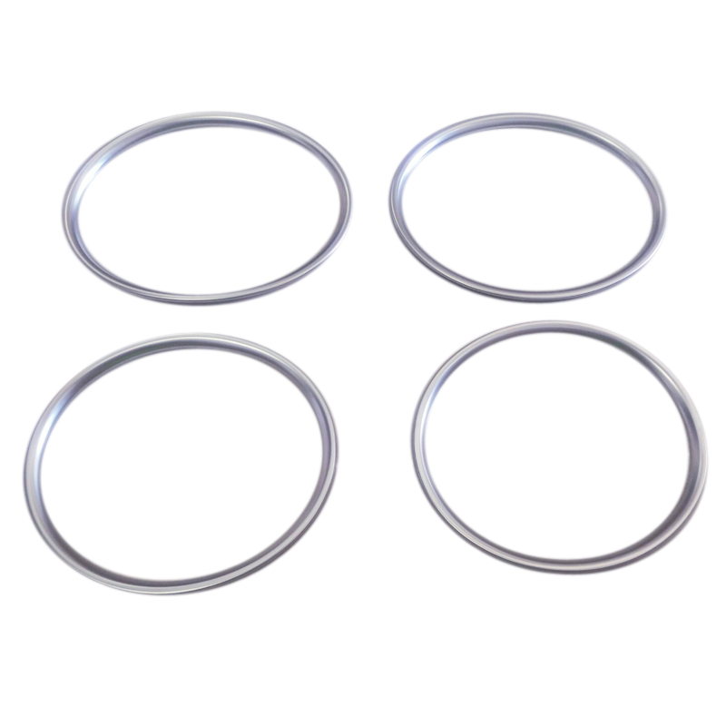 high flying car door inner speakers cover trim decorative abs matte 4pcs for toyota prius phv