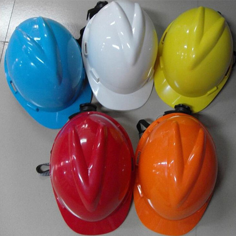 V-type PE material helmet construction site anti-smashing helmets labor insurance ventilation construction helmet leading cap site forumklassika ru куплю баян юпитер
