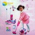 Juegos de imaginación simulación electrodomésticos niños aspiradora de juguete de los muebles sistema Playset juguetes educativos para las niñas los niños mejores regalos