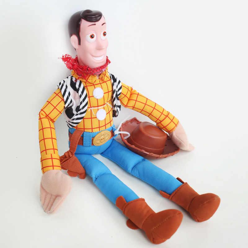 35 см История игрушек 3 Джесси Вуди ПВХ Коллекционная Фигурка pp хлопковый плюшевый Кукла набивные игрушки для детей Рождественский подарок