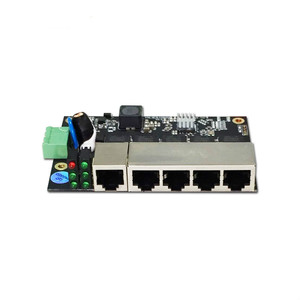 Image 4 - Conmutador ethernet Industrial de 5 puertos, conmutador Ethernet no gestionado de grado industrial con 5 puertos Ethernet adaptables de 10/100 M