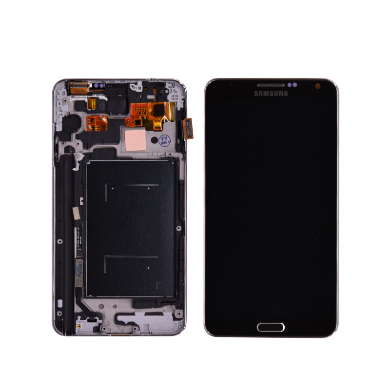 Per Samsung Galaxy Note 3 III N9005 Display LCD Touch Screen Digitizer Assembly Con Cornice di Ricambio partiPer Samsung Galaxy Note 3 III N9005 Display LCD Touch Screen Digitizer Assembly Con Cornice di Ricambio parti