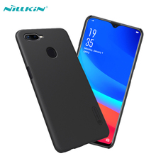цена на For OPPO F9 Pro Case Original NILLKIN Super Frosted Shield Matte Plastic Hard Protective Cases For OPPO F9 Phone Back Covers