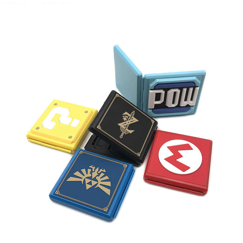 10 sztuk/partia nowy nintendo switch 12 + 12 tf pudełko kartonowe ochronna gra karciana Flashcart kaseta ciężka powłoka Box dla nintendo przełącznik