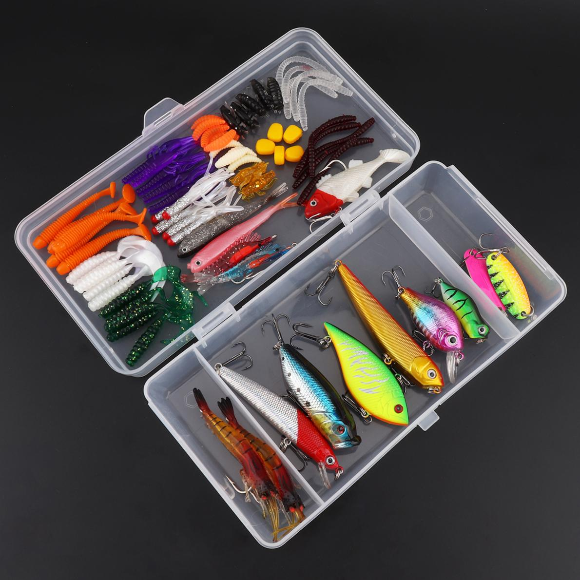 10x Spoon Spinning Fishing Lures Hard Bait Sequins Fishing Baits Replacement