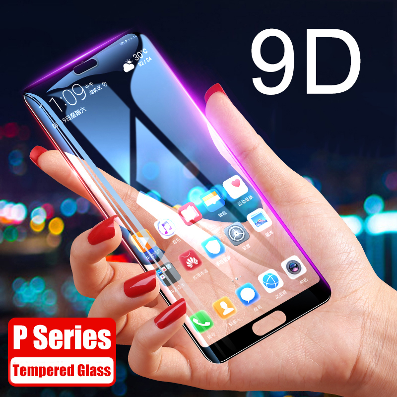 9D Tempered Glass for Huawei P20 Pro Screen Protector For Huawei P20 P10 P Smart Plus PSmart P8 P9 Lite 2017 Protective Glass HD(China)