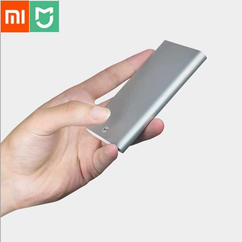 Xiaomi MIIIW Card Holder ID Card Box Case Pocket Purse Stainless Steel Silver Aluminium Credit Card Case Unisex