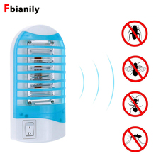Mosquito Killer Night Light Electronic Fly Bug Insect Mosquito Killer Lamp Moth Stinger Wasp Killing Trap US/EU Plug