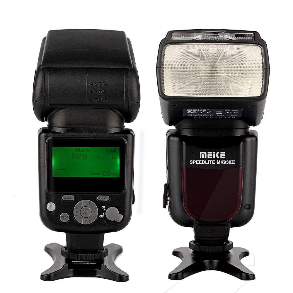 Майке MK-930 II MK930II МК 930 II для Nikon Canon Olympus Panasonic DSLR Камеры Вспышка Speedlite + Диффузор